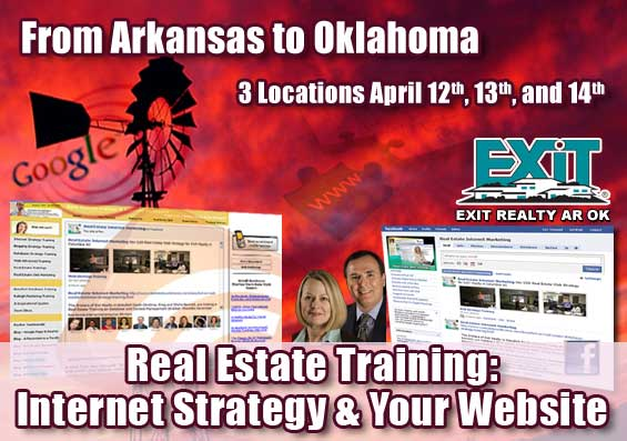 Arkansas and Oklahoma Real Estate Web Strategy Trainings – EXIT Realty