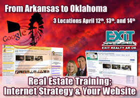 Arkansas and Oklahoma Real Estate Web Strategy Trainings
