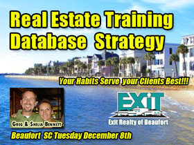 Beaufort SC Real Estate Database Strategy Training
