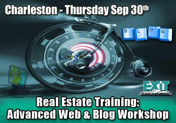 Charleston SC Real Estate Advanced Web and Blog Strategy Workshop
