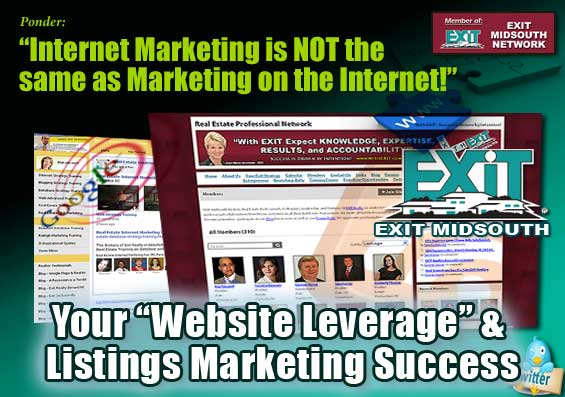 Your Website and Listings Marketing Leverage – EXIT MidSouth