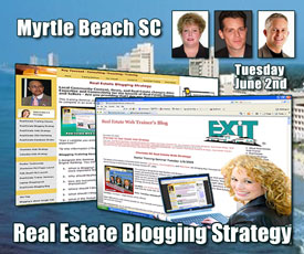 Myrtle Beach SC Real Estate Web Strategy Training Tuesday June 2nd, 2009