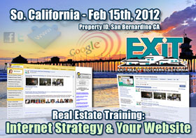 Exit Realty Southern California Real Estate Web Strategy Training
