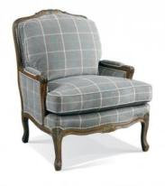 Hickory White Bergere Chair 4470-01