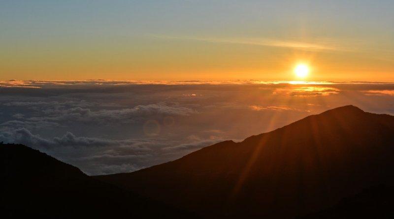 Haleakala Sunrise, summit, 10,000, Maui