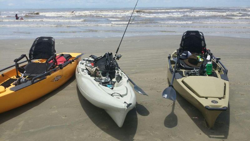 Galveston Island Kayak Fishing