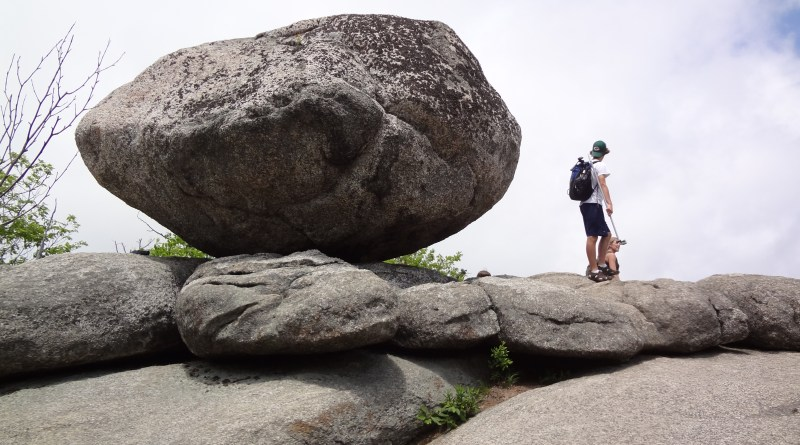 Old Rag Boulder, Rock Scramble