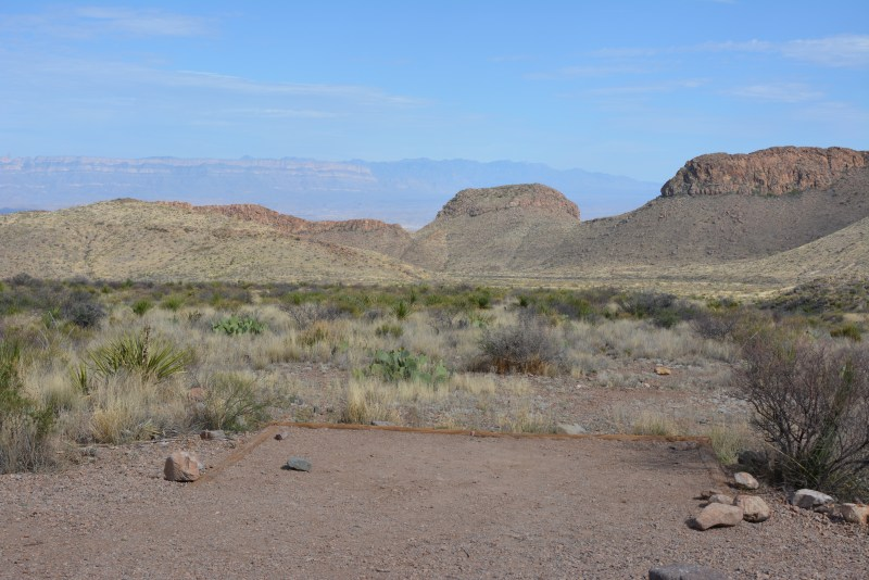 Pine Canyon, Big Bend, Primitive Roadside Camping, Backcountry