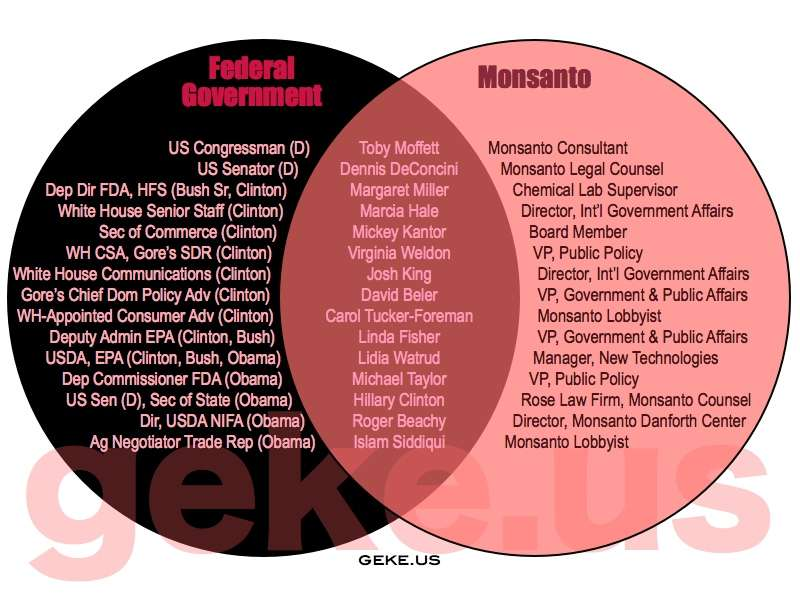 The Fda And Monsanto A Love Story