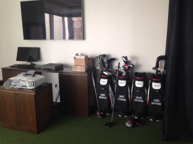 Oren's Golf Studio Logo Golf Bags