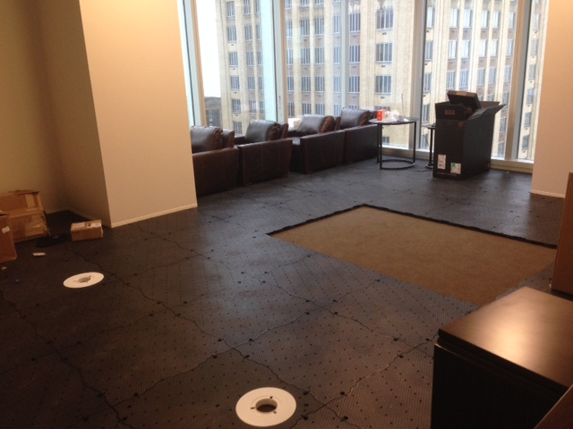 Oren's Golf Studio Putting Turf Tiles