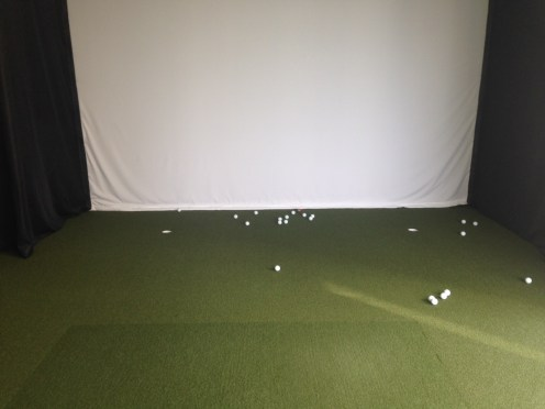 Oren's Golf Studio Trakman Golf Simulator