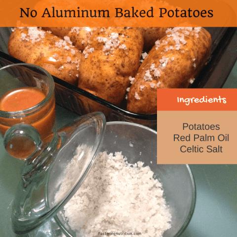no aluminum potatoes