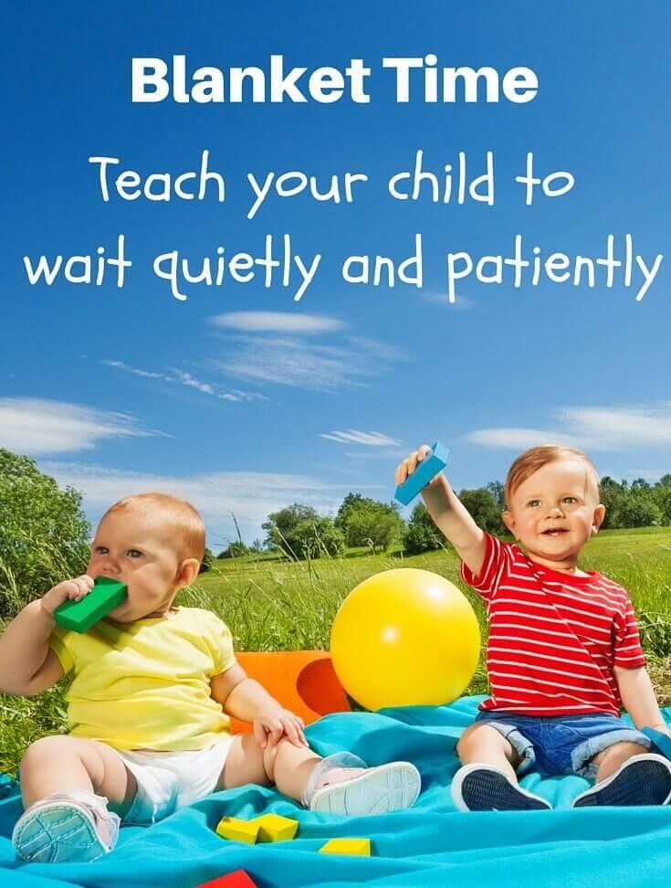 well behaved children w Blanket Time