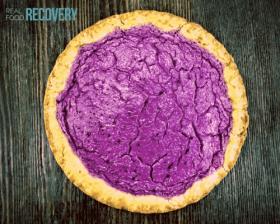 Purple Sweet Potato Pie
