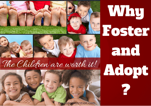 Why foster and adopt