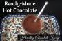 Ready-Made chocolate syrup