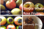 Apples & Pears, Simple Whole Rose Fruits