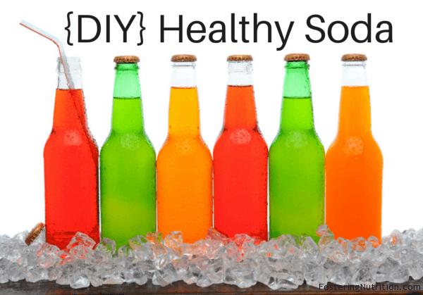 {DIY} Healthy Soda