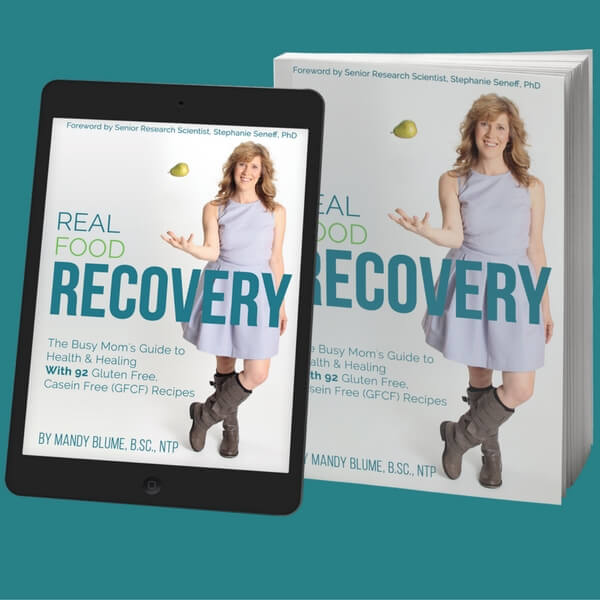 Real Food Recovery Book podcast interview