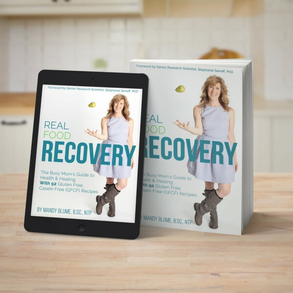 Real Food Recovery Book Kindle & Hard cover