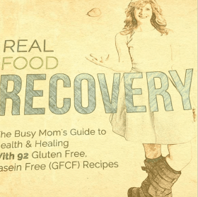 Real Food Recovery Cookbook sketch