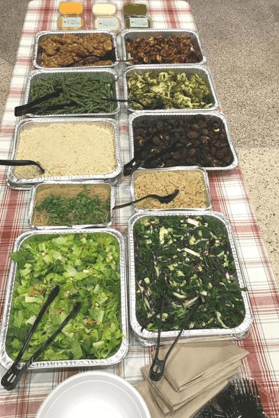 Greens Fresh Kitchen School Bash