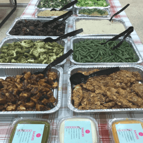 Greens and Sauces School Bash