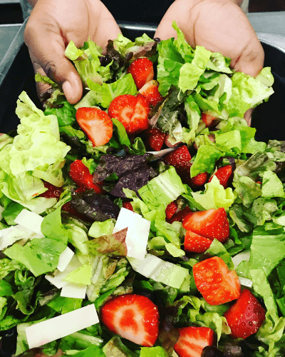 Food, Strawberry Salad at the Home