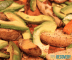 Easy potatoes and avocado
