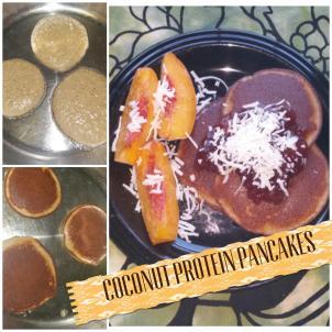 Coconut Flour Protein Pancakes