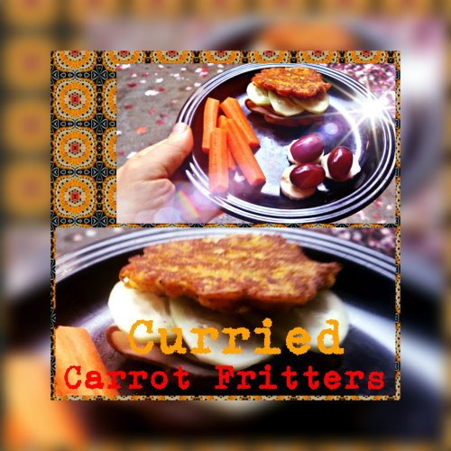 Curried Carrot Fritters