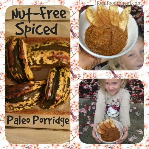Nut-free Spiced Paleo Porridge