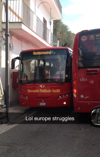 Italy Red Buses