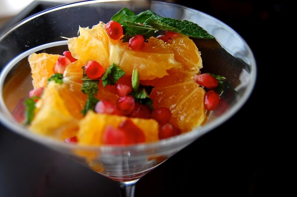 Pomegranate-Orange and Mint Salad - Real Food with Dana