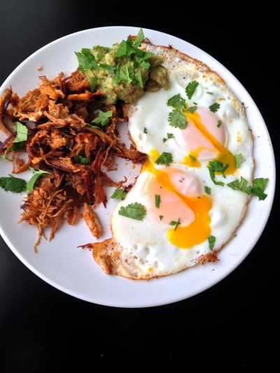 Pulled Pork & Eggs - Real Food with Dana