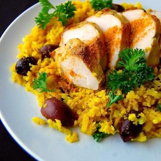 """Curry"" Cauliflower Rice (AIP)"