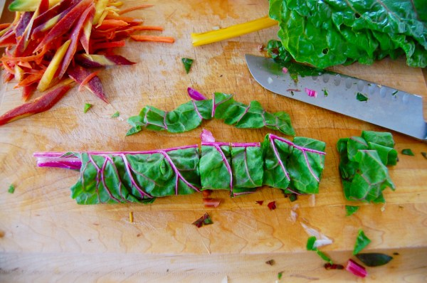 How to: Chiffonade Greens - Real Food with Dana