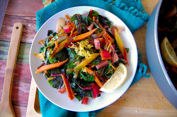 Rainbow Chard And Carrot Hash Dana Monsees Ms Cns Ldn