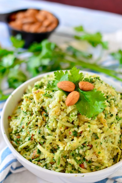 Nutty Green Parsnip Rice | Real Food with Dana