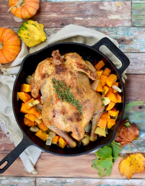 Apple & Herb Roast Chicken | Real Food with Dana