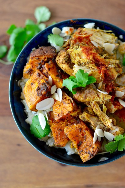 Slow Cooker Moroccan Chicken Thighs Real Food With Dana
