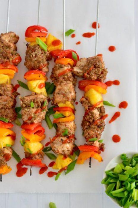 Paleo Jamaican Jerk Chicken Kabobs Real Food With Dana