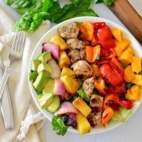Jamaican Chopped Chicken Salad