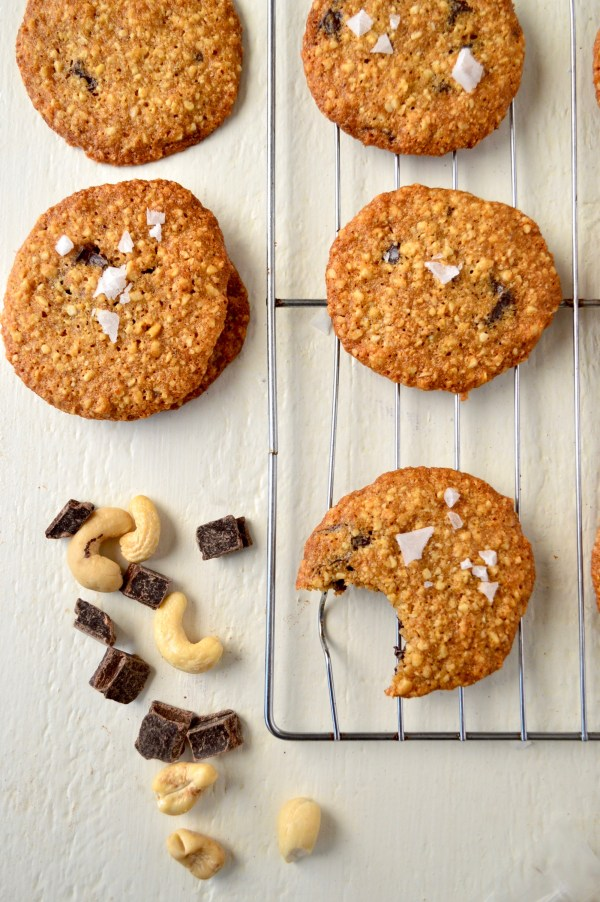Paleo Dark Chocolate Chip Cookies with Cashew Flour   Real Food with Dana