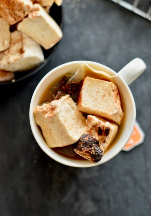 Apple Chaider & Homemade Gingerbread Marshmallows