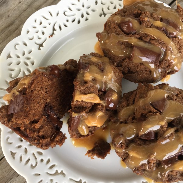 Dark Chocolate Peanut Butter Muffins (with a Paleo Option too!)   Guest Post by Curry Girls Kitchen for Real Food with Dana