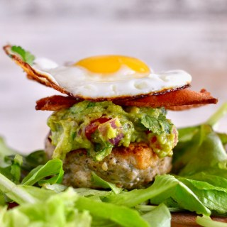 Loaded Whole30 Brunch Burgers