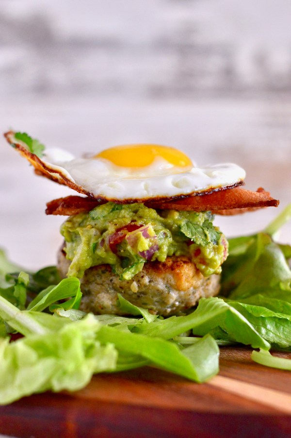 Loaded Whole30 Brunch Burgers | Real Food with Dana