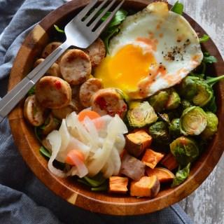 the Breakfast Salad. (Whole30, Paleo)